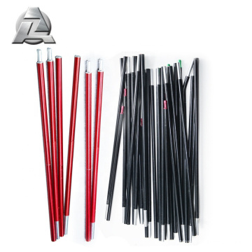 factory price extendable anodized extruded aluminum tent pole