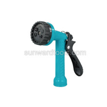Multi-pattern polymer spray gun