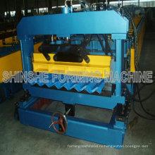 Машина для производства рулонной плитки для металлочерепицы