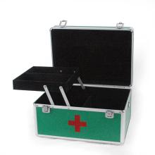 Caja de herramientas de aluminio caja médica con bandeja (HX-W2941)