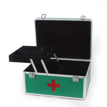 Aluminum Case Tool Box Medical Case with Tray (HX-W2941)