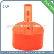 Accessoires de vente chaude tubes d'essai en plastique bouchon à vis capuchons en plastique pour bouteilles
