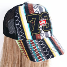 Sombrero de moda ajustable de invierno sombrero de invierno caliente sombrero de tejer gorra de béisbol