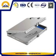 Argent d'étui de rangement en aluminium pour ordinateur portable / iPad / Document