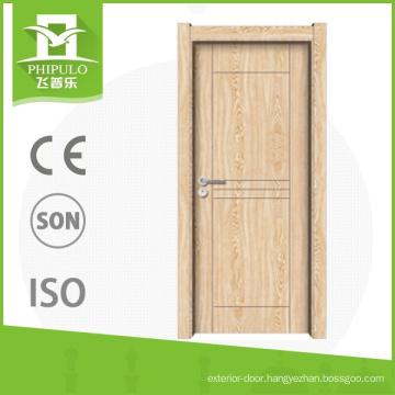 China supplier melamine sliding wood interior door for sale