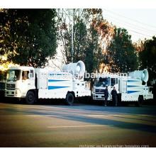 Camión de supresión de polvo RHD Dongfeng Tianjin con pulverización montada en camión y pulverización de plaguicidas
