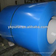 Material de construcción de bobinas de chapa de acero de color