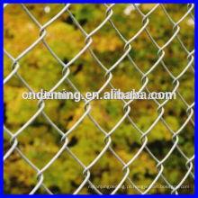 Pátio de recreio ferro cadeia link cerca