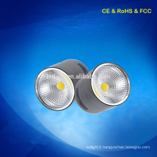 5w Round fixture Surface mounted LED COB down light