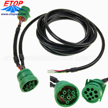 SAE J1939M to J1939P cable assemblies