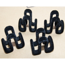 Black Flock Hanger Clips