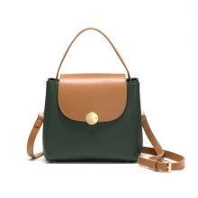 Custom PU Leather Print Tote Crossbody Shoulder Bag
