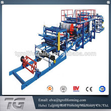 China manufacturer for sandwich panel press machine