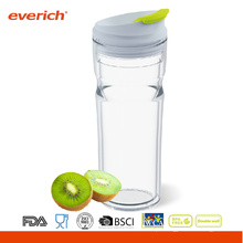 Everich BPA Free 16oz Dual Layer Reusable PP Tumbler