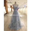 promotional logo Pleat cheap custom long tail cocktail dress