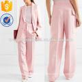 Solar Twill Wide-leg Pants Manufacture Wholesale Fashion Women Apparel (TA3019P)
