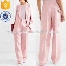 Solar Twill Wide-leg Pants Manufacture Wholesale Fashion Women Apparel (TA3019P)