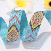 Wholesale printed nylon ribbon with single face