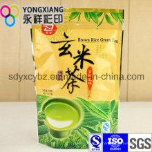 Stand-up Special Foil Té / Café Bolsa de embalaje de plástico con grado alimenticio