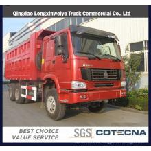 Camión volquete Sinotruk HOWO 6X4 25t 290HP