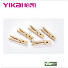 2015 Conjunto de clavijas de madera de madera de pino 24pcs