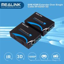 Extensor HDMI de 60m sobre un solo Cat5e / 6, HDMI V1.3