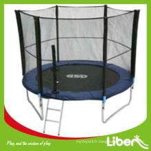 Trampoline ronde pour enfants avec tente de sécurité