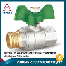 TMOK WOG600 female thread BSP thread brass ball valve factory price yuhuan taizhou zhengjiang manufacturer
