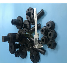 Fabricação profissional de engrenagens Eixo de engrenagem de aço inoxidável