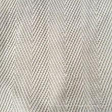 Ткань бамбука / конопли в узоре елочки (QF13-0013)