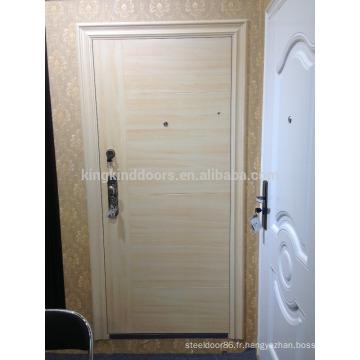 Nouvelle couleur de conception Europe Style porte en acier de sécurité porte principale DL-508