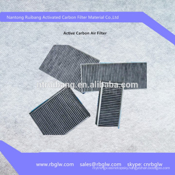 manufacturing coconut shell activated carbon filter