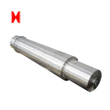 Forged alloy steel stepped shaft open forging spindle