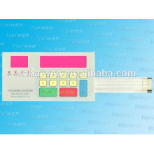 flexible silkscreen printing 4ways connector 3*6 matrix membrane switch