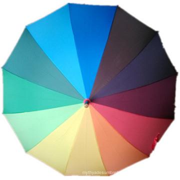 Rainbow Straight Umbrella (JYSU-05)