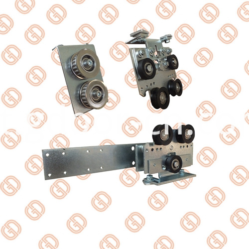 Pulleys with Aluminum Alloy Profiles