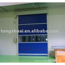 refrigerator style high speed door