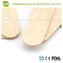 Despressor descartável não esterilizado de madeira para uso médico
