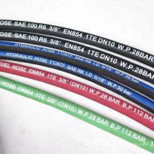 pvc plastic fiber reinforced flexible hose production line for garden using factory offer
