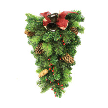 Cheap new design christmas artificial wall hanging for home decor