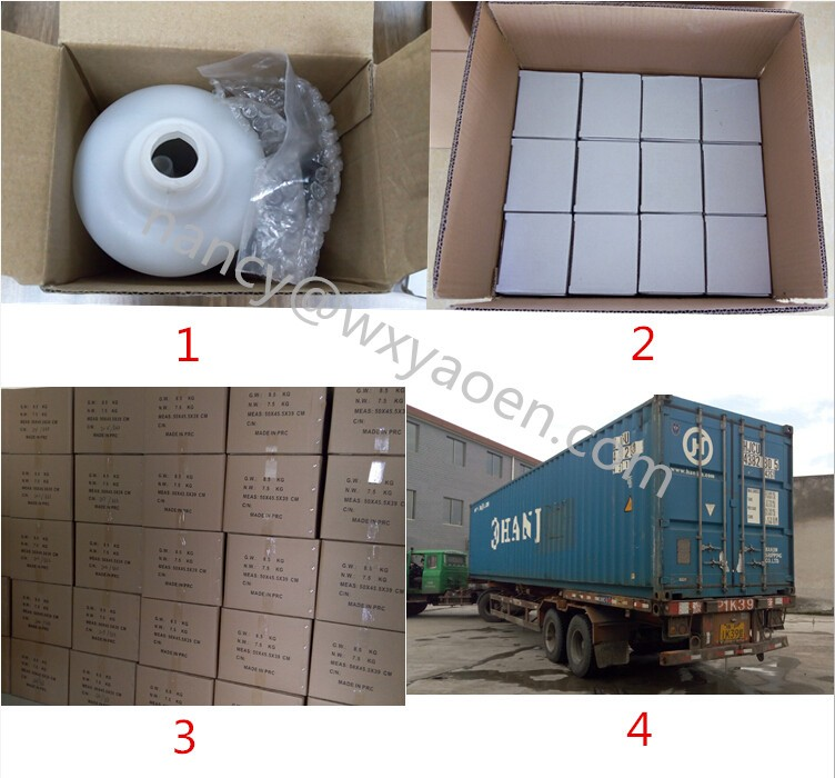 packing of foam generating sprayer