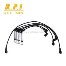 Câble d'allumage haute tension en silicone, FIL DE BOUGIE SPARK POUR OPEL 1612558