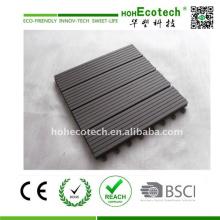 WPC Wood Composite Deck Tile Floor