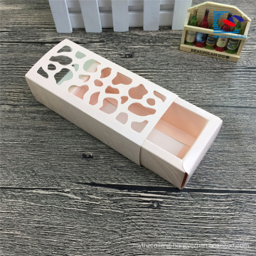 handmade drawer macaroon boxes packaging with window