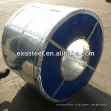Bobina de Aço Galvanizado / Cobertura de Cor Bobina de Aço