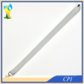 Cheap Blank Polyester Light Gray Lanyard Without Any Logo