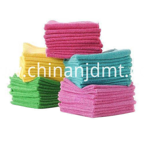 Multicolor Microfiber Car Cleaning Towel