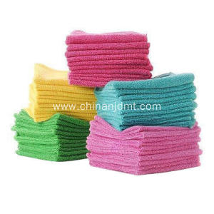 Multicolor Microfiber Cleaning Towels