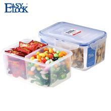 venta caliente Easylock compartimento de plástico 2 compartimentos