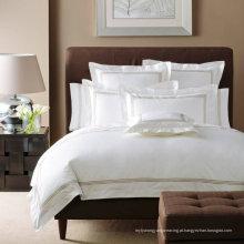 100% Algodão ou T / C 50/50 / Bordados Hotel / Home Bedding Set (WS-2016009)